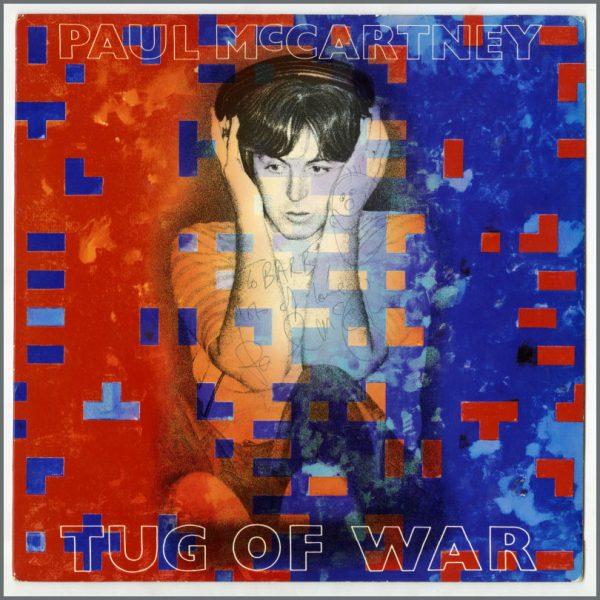 B26951 - Paul McCartney 1982 Autographed Tug Of War LP (UK)