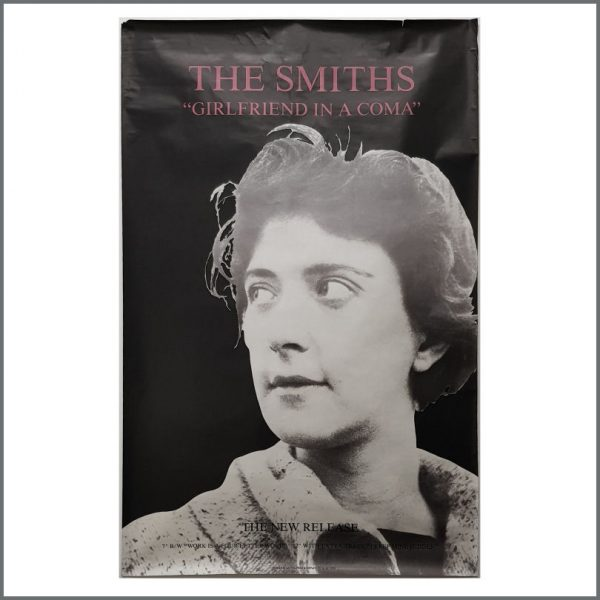 B27001 - The Smiths 1987 Girlfriend In A Coma Rough Trade Promotional Poster (UK)
