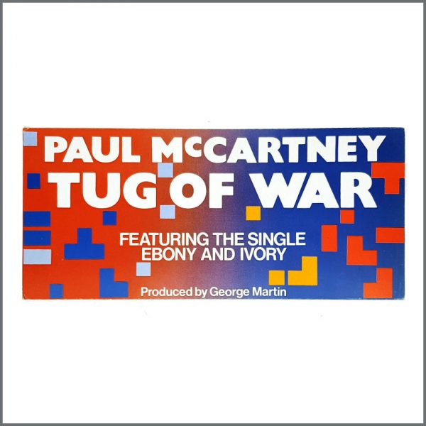 B27004 - Paul McCartney 1982 Tug Of War Shop Display (UK)