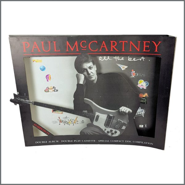B27005 - Paul McCartney 1987 All The Best Promotional 3D Shop Display (UK)