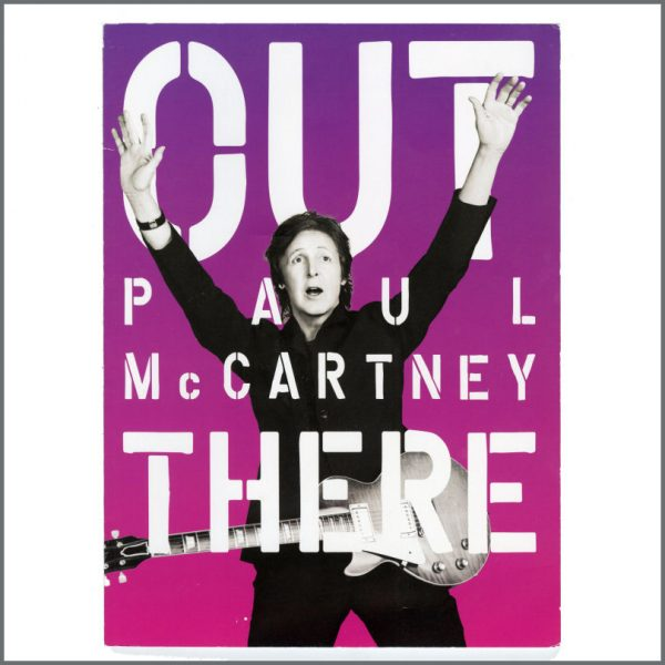 B27028 - Paul McCartney 2013/2014 Out There World Tour Programme