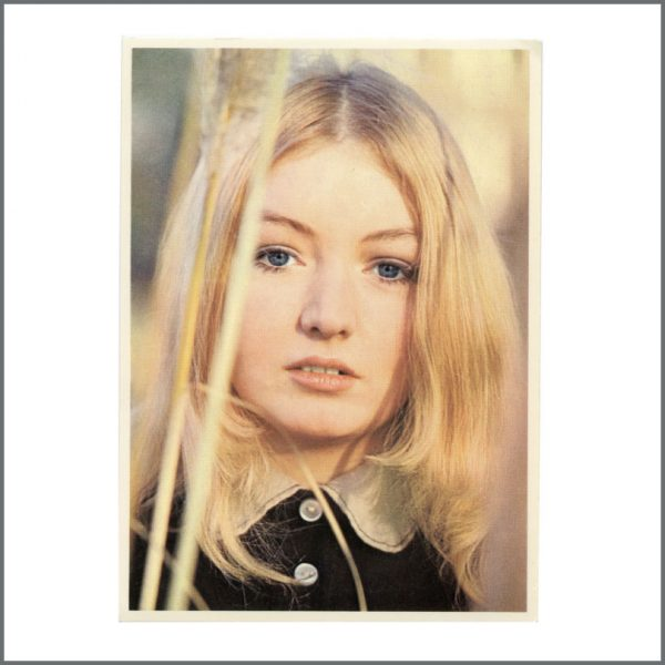 B27038 - Mary Hopkin 1969 Postcard Apple Records Promotional Card (Germany)