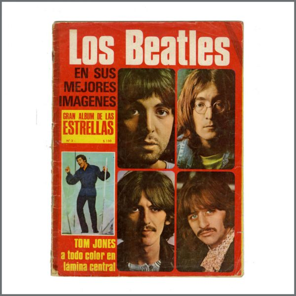 B27050 - The Beatles 1970s Los Beatles Magazine (Spain)