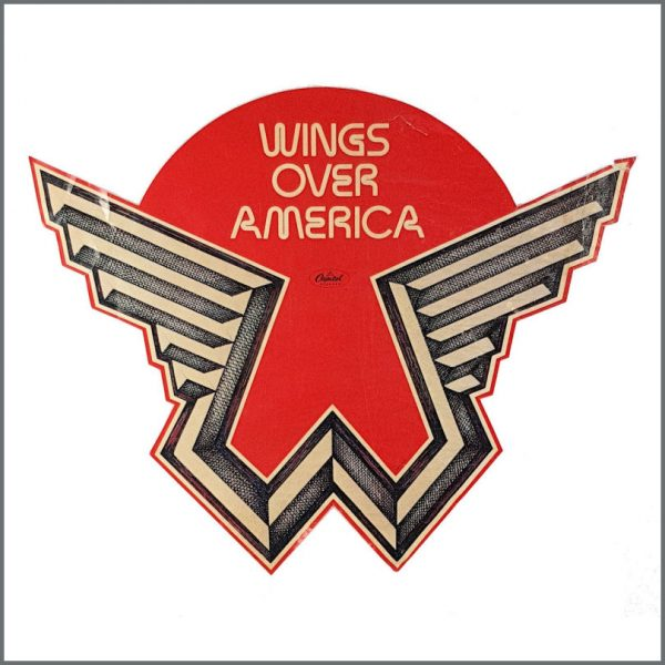 B27051 - Paul McCartney 1976 Wings Over America Poster (USA)