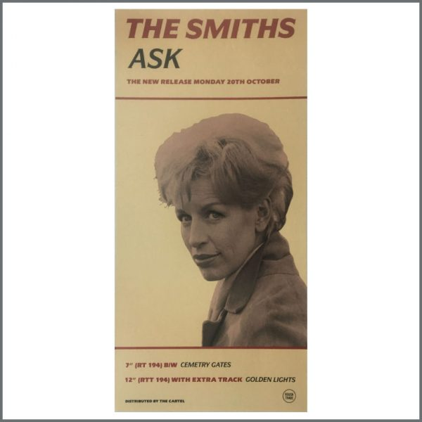 B27059 - The Smiths 1988 Ask Rough Trade Promotional Poster (UK)
