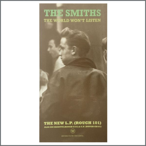 B27060 - The Smiths 1987 The World Won't Listen Rough Trade Promotional Poster (UK)