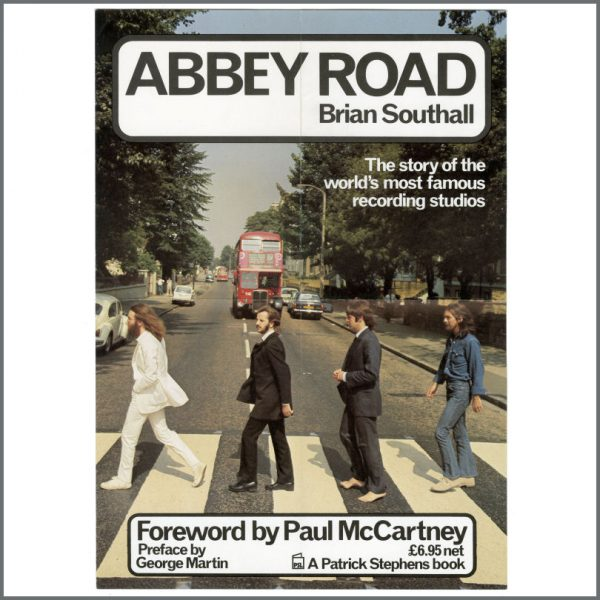 B27067 - The Beatles 2002 Brian Southall Abbey Road Book Promotional Poster (UK)