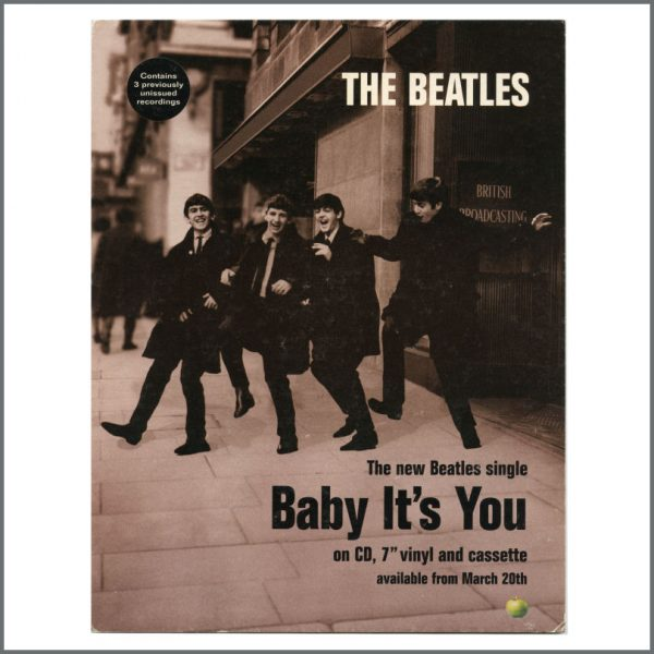 B27071 - The Beatles 1995 Baby It's You Promotional Shop Display (UK)