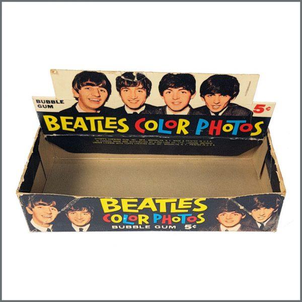 B27076 - The Beatles 1964 Topps Trading Cards Shop Display Box (USA)