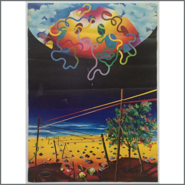 B27083 – The Beatles – The Fool Apple Boutique Psychedelic Landscape Poster (UK) 1