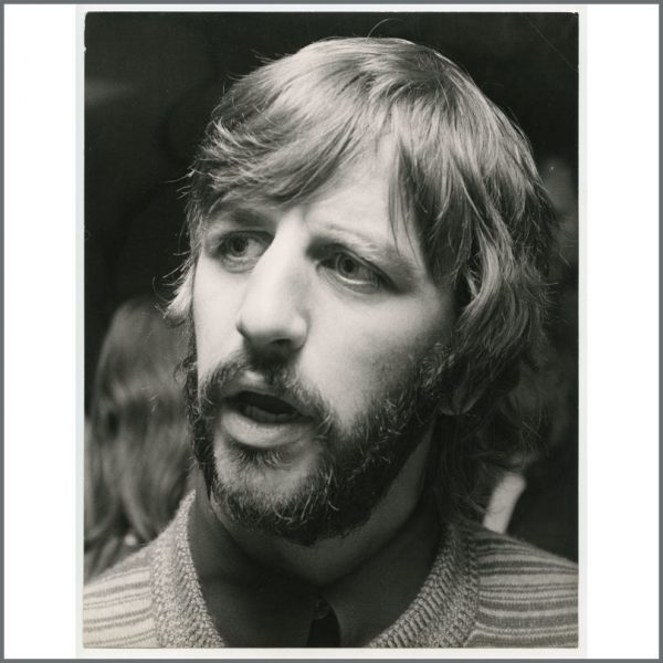 B27084 - Ringo Starr 1970 Vintage Photograph (UK)