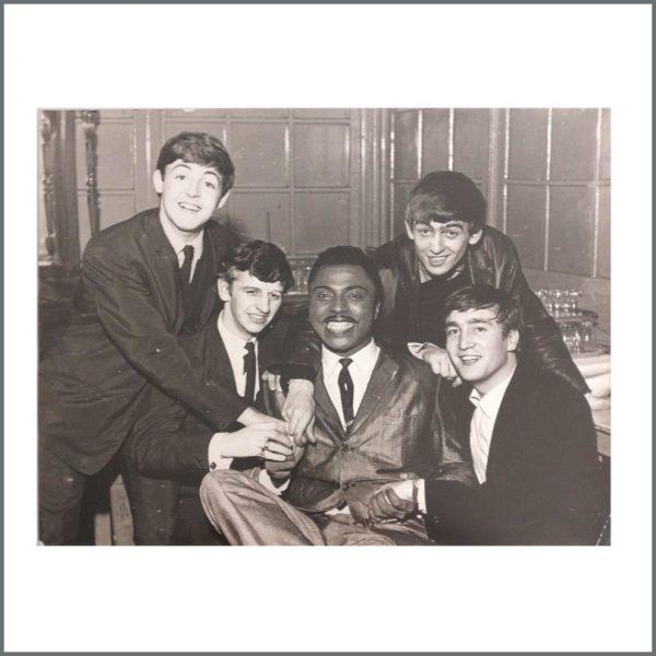 B27136 - The Beatles 1962 Little Richard Large Peter Kaye Photograph (UK)