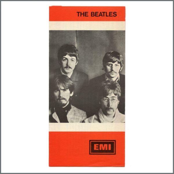 B27143 - The Beatles 1967 EMI Promotional Flyer (Europe)