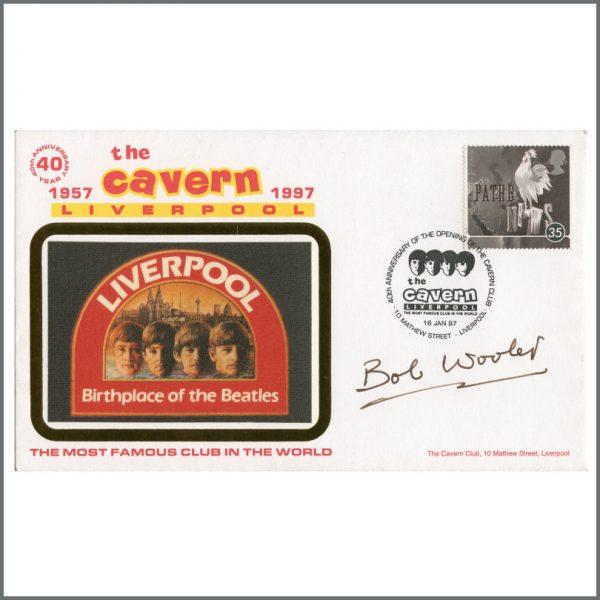 B27162 - Bob Wooler Signed 1997 Cavern Club Envelope (UK)