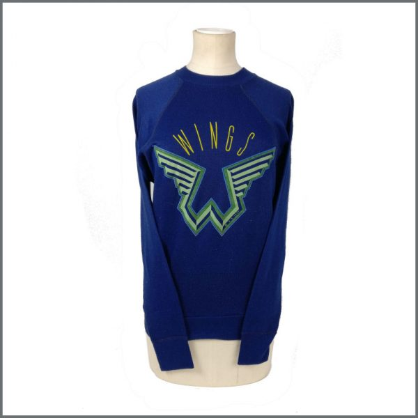 B27178 - Paul McCartney 1977 Wings Sweatshirt (UK)