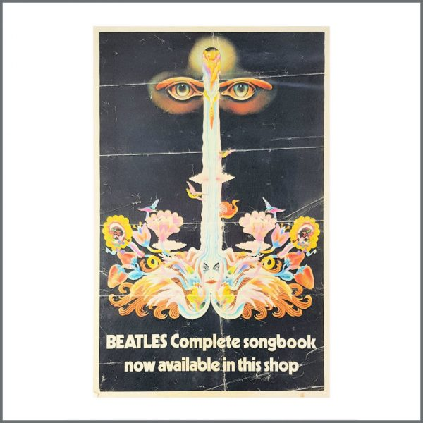 B27202 - The Beatles 1983 Complete Songbook Promotional Poster (UK)