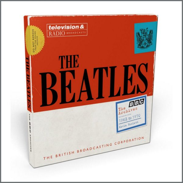The Beatles 2013 The Beatles BBC Archives 1962 to 1970 Book Box Set (UK)