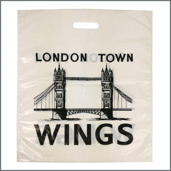 B27213 - Paul McCartney 1978 Wings London Town Promotional Carrier Bag (UK)