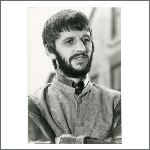 B27215 - Ringo Starr 1970s Vintage Apple Promotional Photograph (UK)