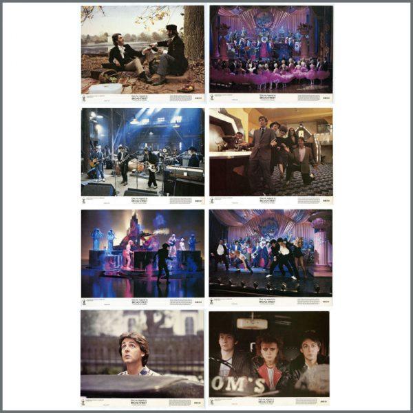 B27228 - Paul McCartney 1984 Give My Regards To Broad Street MPL Lobby Cards (USA)