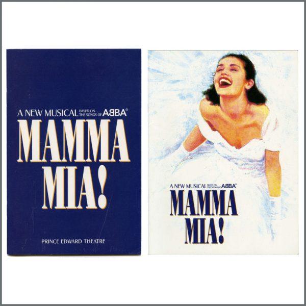 B27229 - ABBA 1999 Mamma Mia! Prince Edward Theatre World Premiere Programme & Booklet (UK)