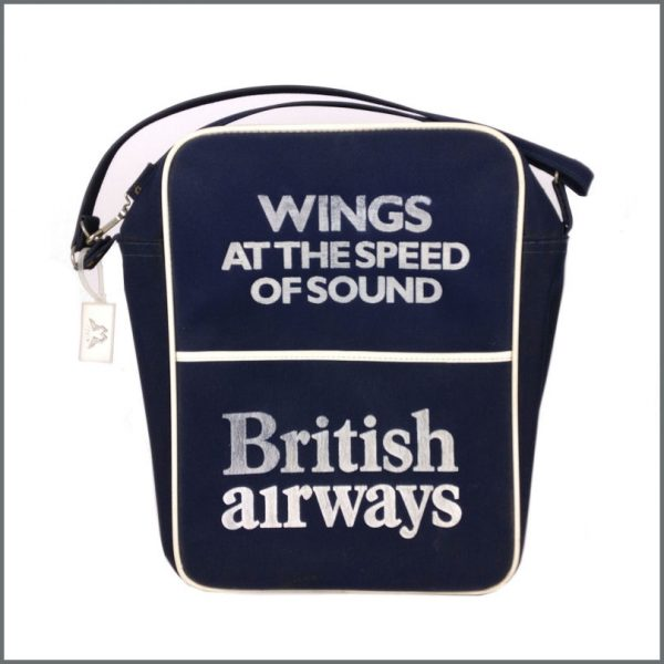 B27242 - Paul McCartney 1976 Wings At The Speed Of Sound British Airways Flight Bag (UK)