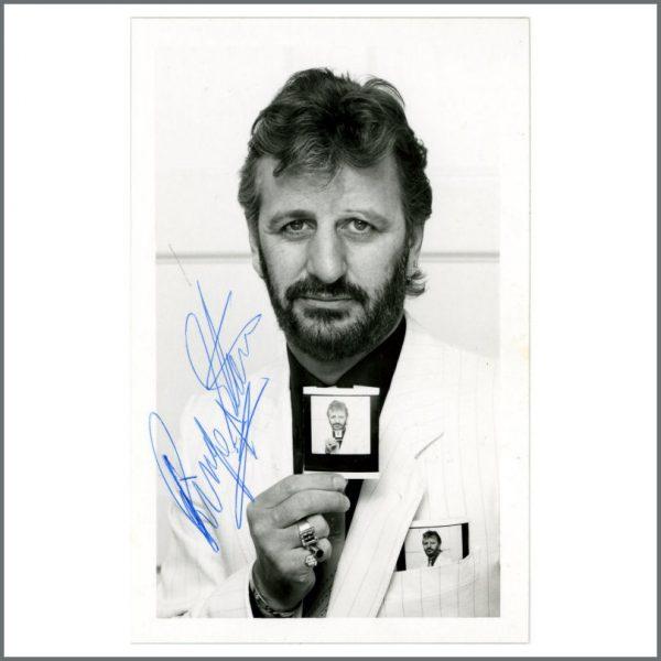B27259 - Ringo Starr 1980s Autographed Photograph (UK)