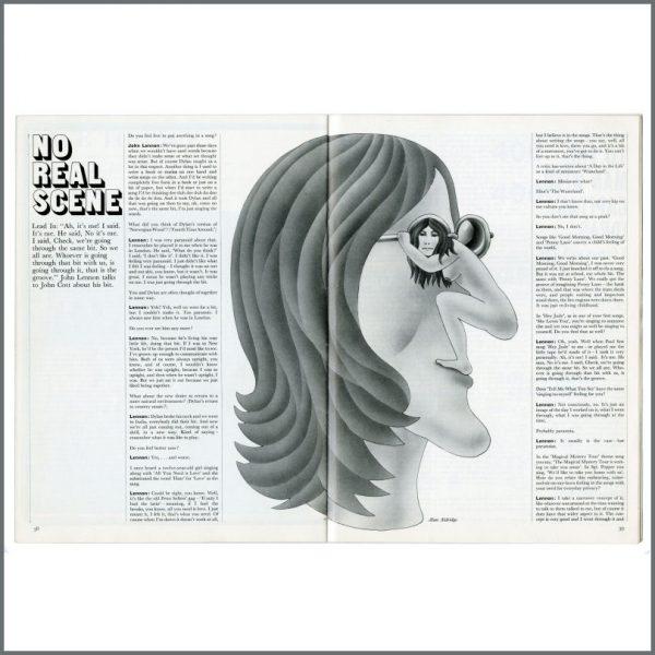B27265 – John Lennon 1969 Student Magazine (UK) 2