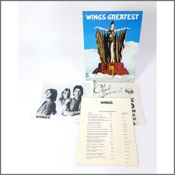 B27269 - Paul McCartney & Wings 1978 Wings Greatest Promotional Press Kit (UK)
