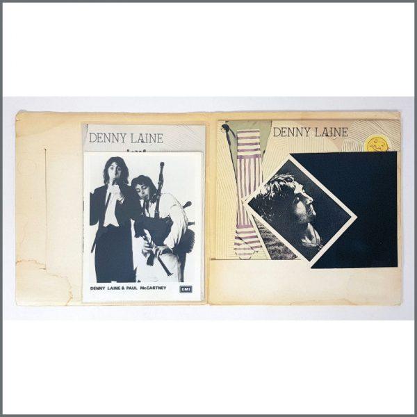 B27270 - Denny Laine 1976 Holly Days Press Kit (UK)