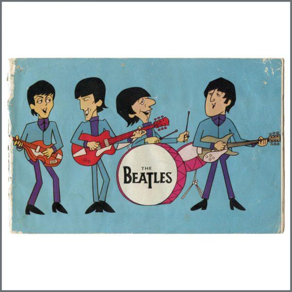B27276 - The Beatles 1965 Moody Blues Tour Programme (UK)
