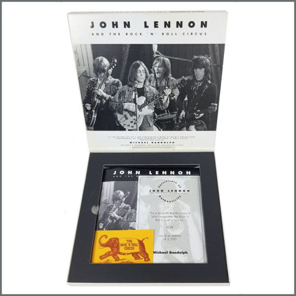 B27277 – John Lennon And The Rock 'n Roll Circus 1993 Limited Edition Book Box Set (UK) 2