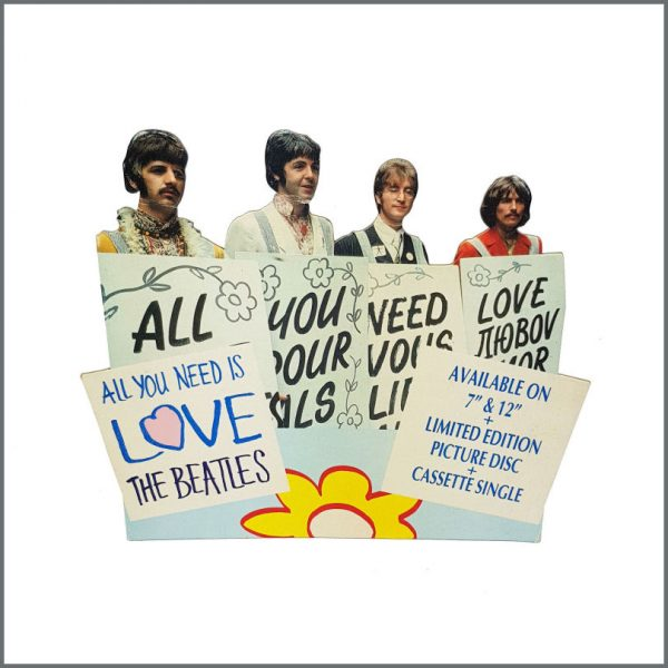 B27281 – The Beatles 1987 All You Need Is Love Shop Display (UK) 1