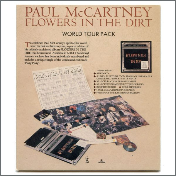 B27282 - Paul McCartney 1989 Flowers In The Dirt Special Edition Shop Display (UK)