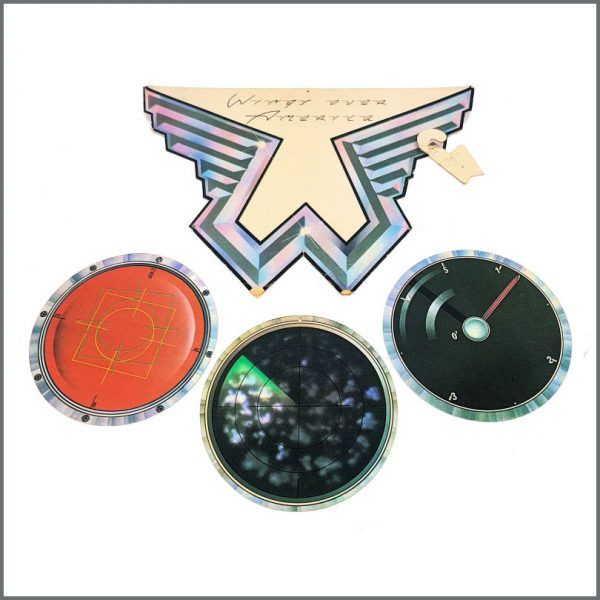B27285 - Paul McCartney 1976 Wings Over America Promotional Shop Display (UK)