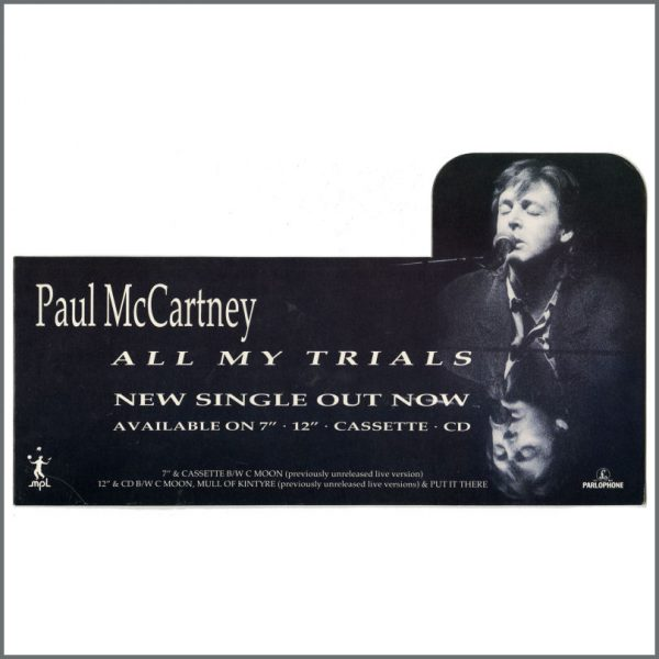 B27288 - Paul McCartney 1990 All My Trials Promotional Shop Display (UK)