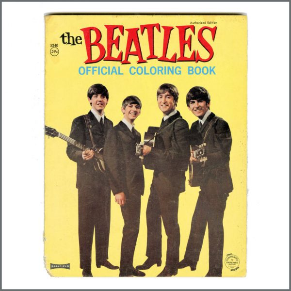 B27312 - The Beatles 1964 Saalfield Official Coloring Book (USA)