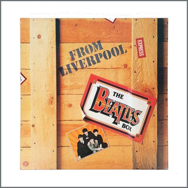 B27315 - Pete Nash Owned 1980 The Beatles Box World Records EMI LP Set (UK)