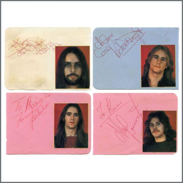 B27318 - Status Quo 1976 Newcastle Autographs (UK)