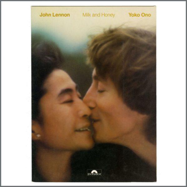 B27339 – John Lennon & Yoko Ono 1984 Milk and Honey Polydor Promotional Press Kit (France) 2