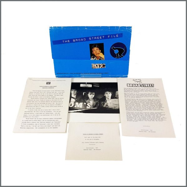 B27343 - Paul McCartney 1984 The Broad Street File Promotional Press Kit (UK)