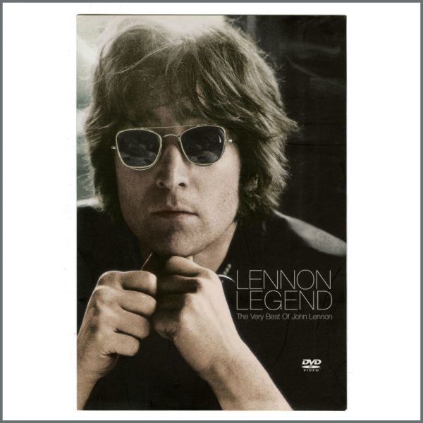 B27345 – John Lennon 2003 Lennon Legend DVD Parlophone Promotional Press Kit (UK) 2