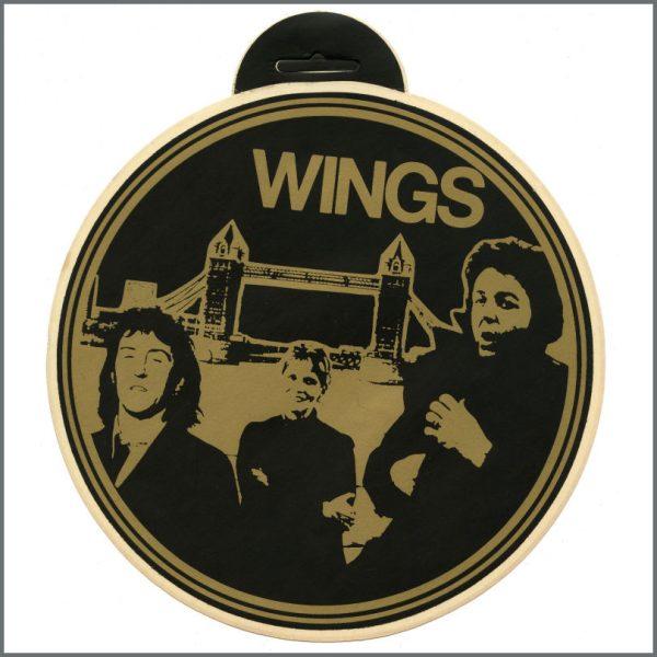 B27381 - Paul McCartney 1978 Wings London Town Window Sticker (UK)