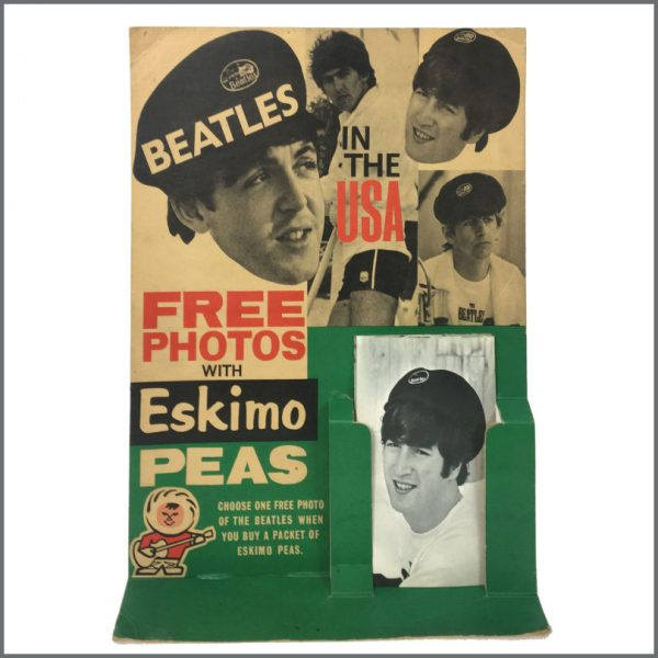 B27408 – The Beatles 1964 Eskimo Foods Counter Display Beatles In The USA Dezo Hoffmann (UK) 3