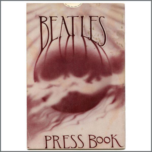 B27409 – Apple Press Office 1969 The Beatles Press Book (UK) 2