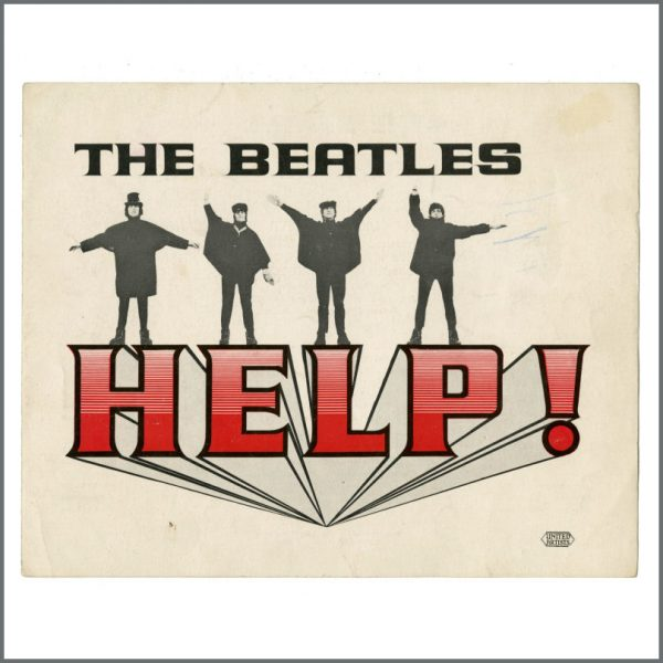 B27417 - The Beatles 1965 Help! Film Synopsis (UK)