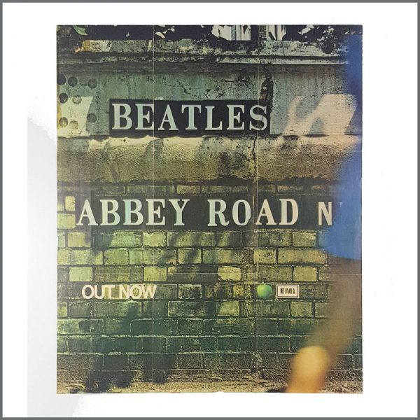 B27419 - The Beatles 1969 Abbey Road EMI Promotional Poster (UK)