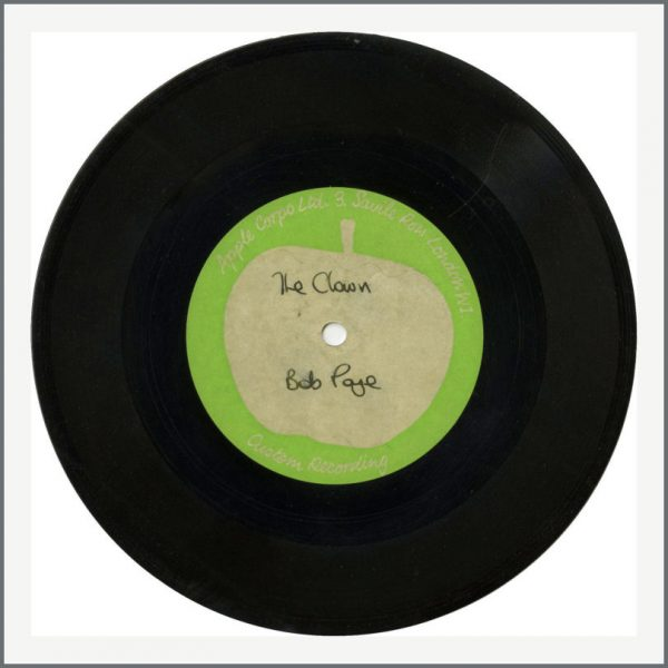 B27424 - The Beatles Related Bob Page – The Clown 1969 Apple Acetate (UK)