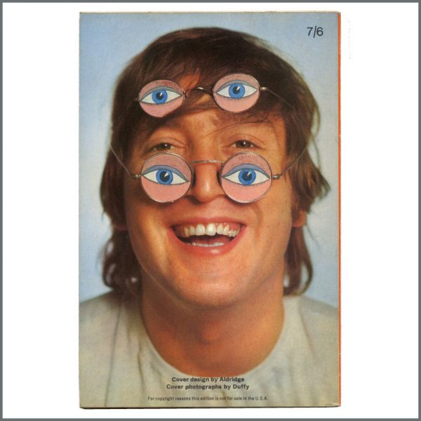 B27435 – John Lennon 1966 The Penguin John Lennon Paperback Book (UK) 2