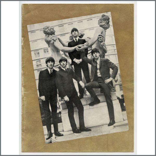 B27458 - The Beatles 1964 Bournemouth Gaumont Concert Programme (UK)